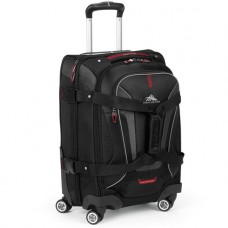 HIGH SIERRA AT7 CARRY-ON SPINNER DUFFLE-BLACK