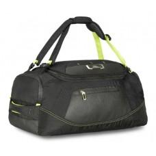 "High Sierra AT8 Duffel Backpack, Black/Zest, 22"""