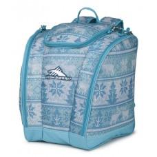 High Sierra Junior Trapezoid Boot Bag, Knitty Pow Tropical Teal