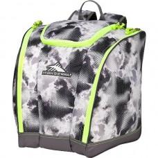 High Sierra Junior Trapezoid Boot Bag, Thunderstruck/Charcoal/Zest
