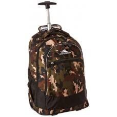 High Sierra Chaser Wheeled Backpack-Whamo Camo/Black
