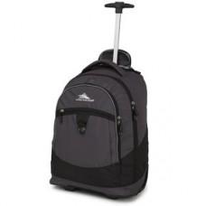 High Sierra Chaser Wheeled Backpack-Mercury Black