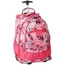 High Sierra Chaser Wheeled Backpack-Summer Bloom/Fuchsia