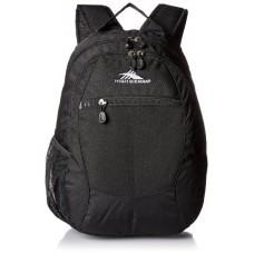 High Sierra Curve Backpack-Black