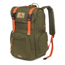 High Sierra Emmett Backpack, Moss/Electric Orange