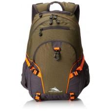 High Sierra Loop Backpack, Moss/Mercury/Electric Orange