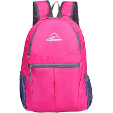 Travel Backpack Hiking Daypack, 30L Lightweight Waterproof Climbing Backpack(pink)