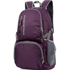 Backpack - Lightweight Backpacks for Travel Hiking - Daypack for Women Men (Purple)