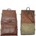 AmeriLeather Leather Three-suit Garment Bag (Black)
