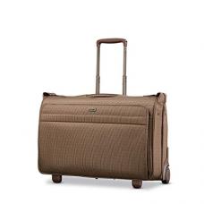 Hartmann Carry on Wheeled Garment Bag, Mocha Monogram