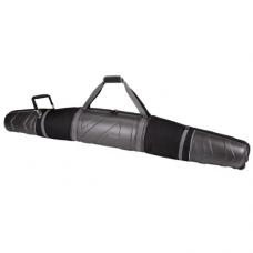 Athalon Platinum Molded Wheeling Double Ski Bag (Platinum, 185cm)