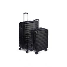 AmazonBasics Hardside Spinner Luggage - 2 Piece Set (20