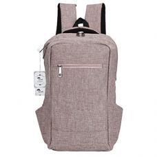 Laptop Backpack,Winblo 15 15.6 Inch College Backpacks Lightweight Travel Daypack - Mauve Pink