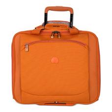 Delsey Luggage Helium Hyperlite Spinner Trolley Tote, Orange