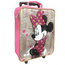 Disney Girls' Minnie Pilot Case, Pink
