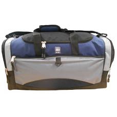 AKA Sport | Sport Duffel Bag in Grey and Blue (24